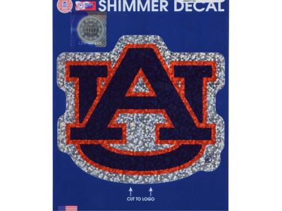 "Auburn Tigers Wincraft 5""x7"" Shimmer Decal"