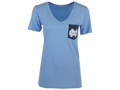 North Carolina Tar Heels Nike NCAA Women's Tri Mid-V Pocket T-Shirt