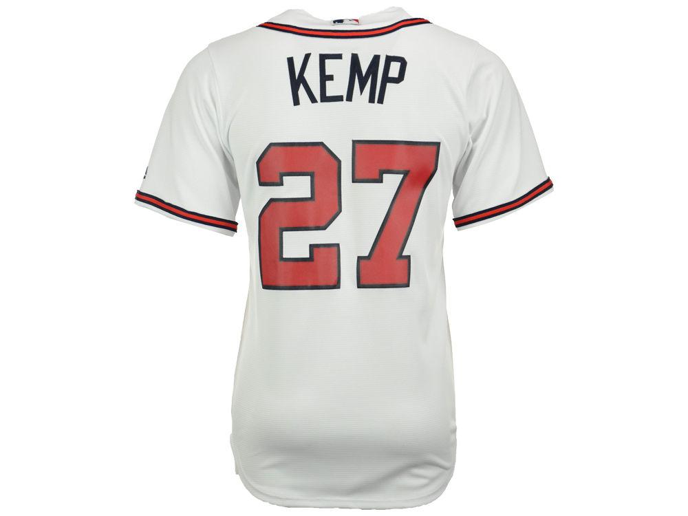 Atlanta Braves Matt Kemp Majestic MLB Men s Player Replica Cool Base Jersey   e6995eaf7