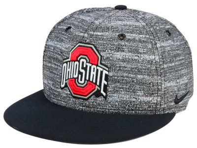 Ohio State Buckeyes Nike NCAA Col True Heathered Snapback Cap