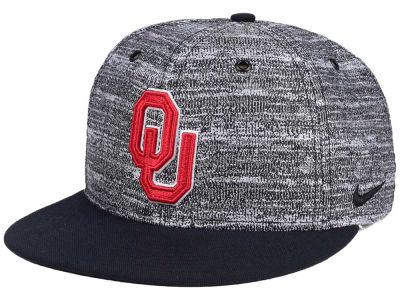 Oklahoma Sooners Nike NCAA Col True Heathered Snapback Cap