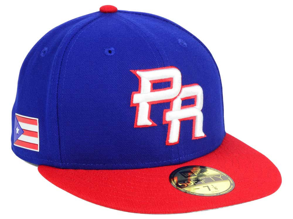 ba41e4c94e6 Puerto Rico New Era World Baseball Classic 59FIFTY Cap