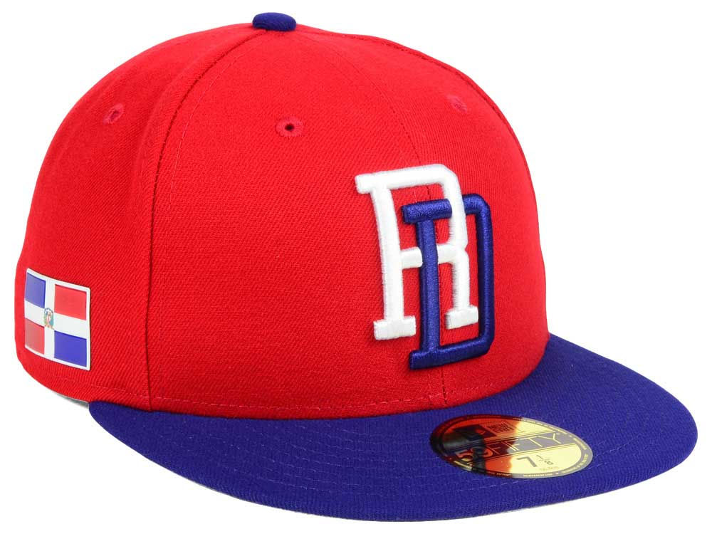 b4c288cddb2 Dominican Republic New Era World Baseball Classic 59FIFTY Cap