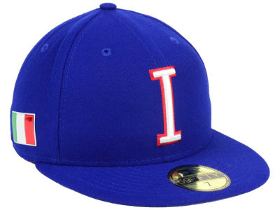 Italy New Era World Baseball Classic 59FIFTY Cap