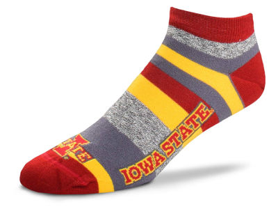 Iowa State Cyclones For Bare Feet Women's Mountain Stripe Sock