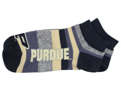 Purdue Boilermakers For Bare Feet Women's Mountain Stripe Sock