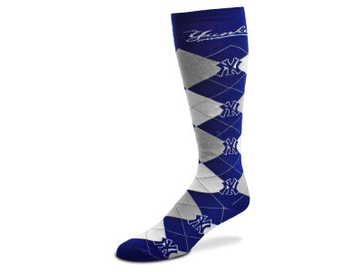 New York Yankees Argyle Knee High Sock