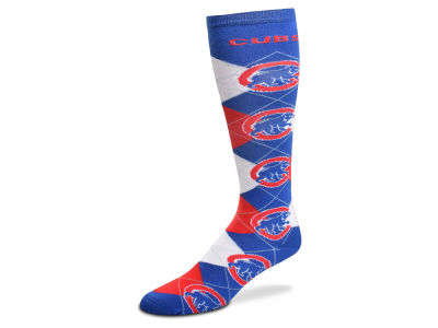 Chicago Cubs Argyle Knee High Sock