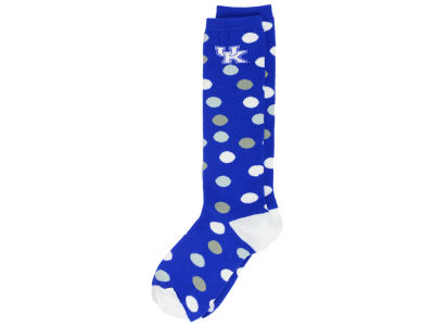 Kentucky Wildcats Women's Polka Dot Socks