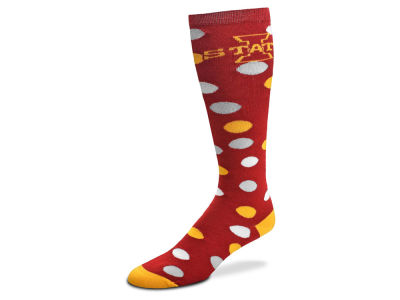 Iowa State Cyclones For Bare Feet Women's Polka Dot Socks