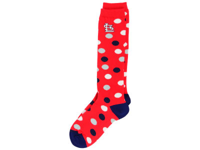 St. Louis Cardinals Women's Polka Dot Socks