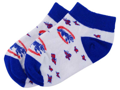 Chicago Cubs Toddler Butterfly Dance Socks