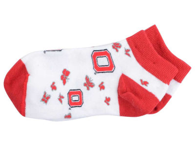 Ohio State Buckeyes For Bare Feet Youth Butterfly Dance Socks