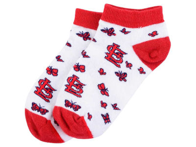 St. Louis Cardinals For Bare Feet Youth Butterfly Dance Socks