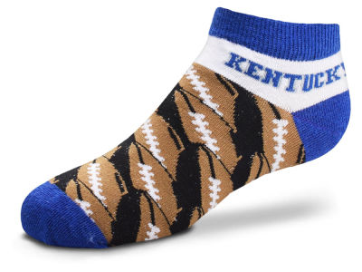 Kentucky Wildcats For Bare Feet Toddler Football Stack Socks