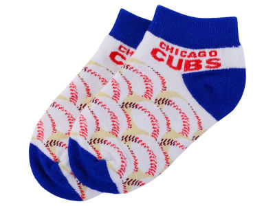 Chicago Cubs Toddler Baseball Stack Socks