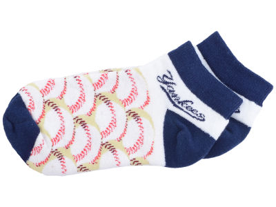 New York Yankees For Bare Feet Youth Baseball Stack Socks