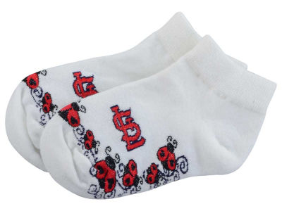 St. Louis Cardinals For Bare Feet Toddler Ladybug Pattern Socks