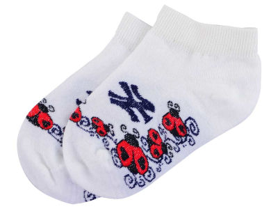 New York Yankees Toddler Ladybug Pattern Socks