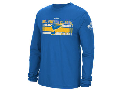 St. Louis Blues Reebok 2017 NHL Winter Classic Team Chemisty Long Sleeve T-Shirt