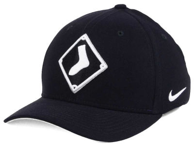 Chicago White Sox Nike MLB Ligature Swoosh Flex Cap