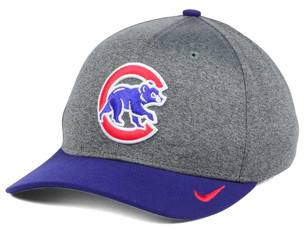 quality design 9973b 1146a ... where can i buy chicago cubs nike mlb hight tail 2tone flex cap 79010  83896