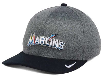 Miami Marlins Nike MLB Hight Tail 2Tone Flex Cap