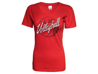 Ohio State Buckeyes NCAA Women's Volleyball Slant T-Shirt