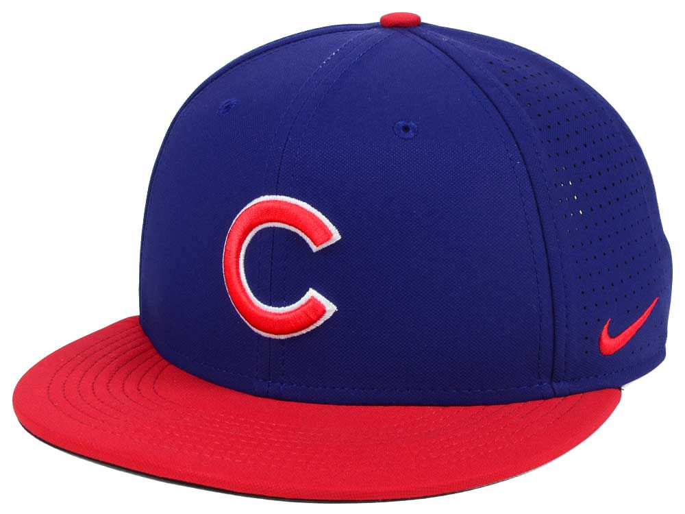 Chicago Cubs Nike MLB Aero True Structured Velcro Cap  876fba531