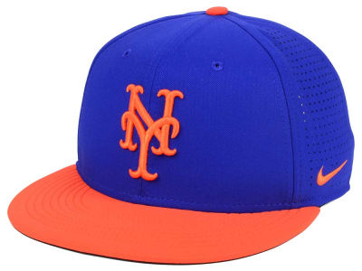 New York Mets Nike MLB Aero True Structured Velcro Cap