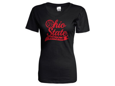 Ohio State Buckeyes NCAA Women's Volleyball Script T-Shirt