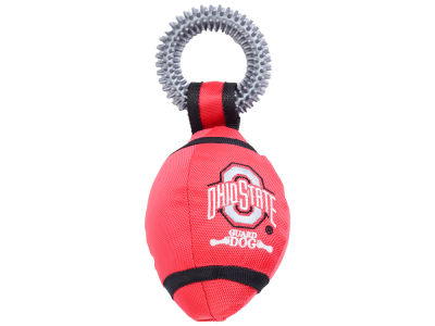 Ohio State Buckeyes Football with Ring Dog Toy