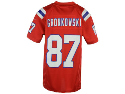 New England Patriots Rob Gronkowski Nike NFL Youth Game Jersey