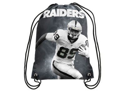 Oakland Raiders Amari Cooper Player Printed Drawstring Bag