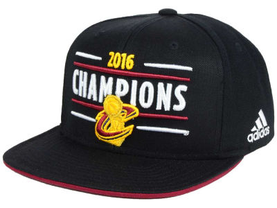 Cleveland Cavaliers adidas 2016 NBA Trophy Ring Banner Celebration Snapback Cap