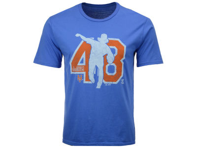 New York Mets Jacob deGrom MLB Men's Lux Cotton Player T-Shirt