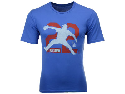 Los Angeles Dodgers Clayton Kershaw MLB Men's Lux Cotton Player T-Shirt