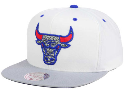 Chicago Bulls Mitchell and Ness NBA Mitchell and Ness 88 Hook Up Snapback Cap