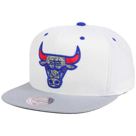Chicago Bulls Mitchell & Ness NBA Mitchell And Ness 88 Hook Up Snapback Cap