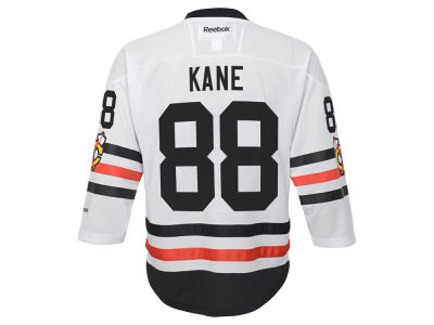 Chicago Blackhawks Patrick Kane Reebok NHL Youth 2017 Winter Classic Jersey