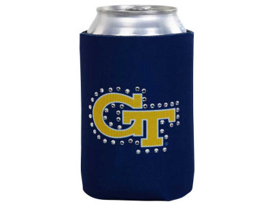 Georgia-Tech Bling Can Coozie