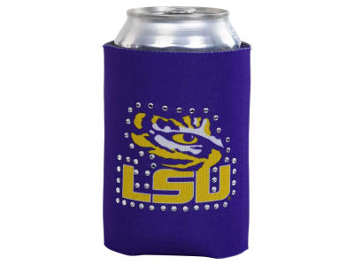 LSU Tigers Bling Can Coozie