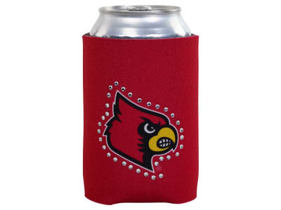 Louisville Cardinals Bling Can Coozie