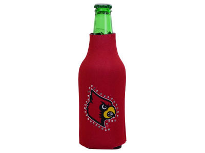 Louisville Cardinals Bling Bottle Coozie