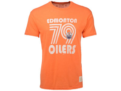 Edmonton Oilers Retro Brand NHL Men's Nick Short Sleeve Heathered T-Shirt