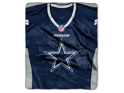 "Dallas Cowboys NFL 50x60 ""Jersey"" Plush Raschel Blanket"