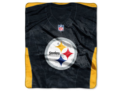 "Pittsburgh Steelers NFL 50x60 ""Jersey"" Plush Raschel Blanket"