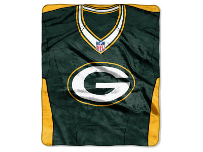 "Green Bay Packers NFL 50x60 ""Jersey"" Plush Raschel Blanket"