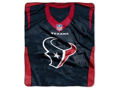 "Houston Texans NFL 50x60 ""Jersey"" Plush Raschel Blanket"