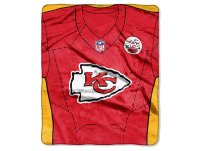 "Kansas City Chiefs NFL 50x60 ""Jersey"" Plush Raschel Blanket"